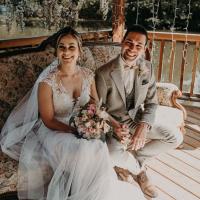 Brautpaar Xenia und Julian
